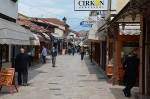 Skopje, Old Bazaar, Macedonië
