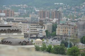 Skopje, Alexander de grote, Macedonia Square
