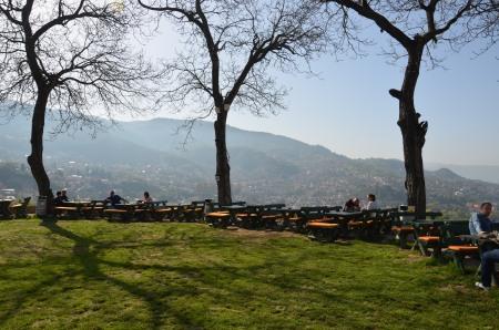 Yellow Bastion in Sarajevo