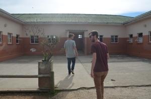 Schooltje in de township Kranshoek nabij Plettenberg Bay