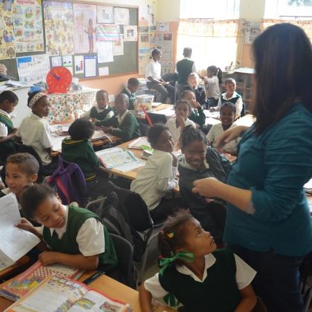 School van Born in Africa in Kranshoek bij Plettenberg Bay
