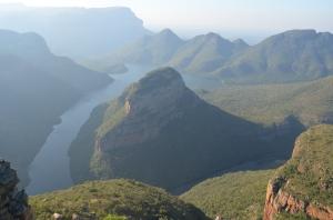 Blyde River Canyon op de panoramaroute