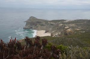 Kaap de Goede Hoop in Zuid-Afrika.