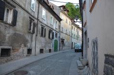 Een straatje in de oudere wijk.