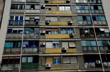 Een typische bouwstijl in Oost-Europa.