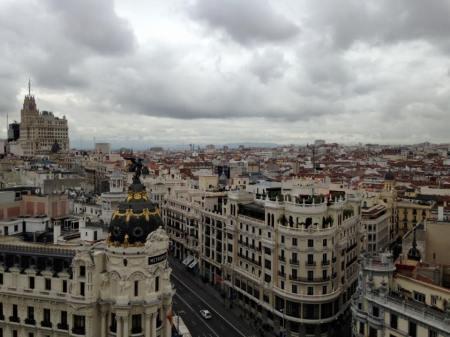 Uitzicht over Madrid