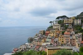 Een eindje klimmen wordt beloond met een mooi uitzicht over het stadje.