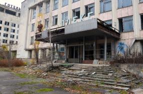Prypjat, nabij Tsjernobyl