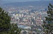 Uitzicht op het centrum van Banja Luka.