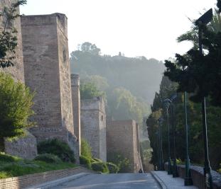 Muren van Alcazaba